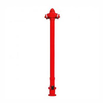 Hidrant suprateran, neretezabil, A.I. = 1.25m + cot cu picior DN 65/80 (IIB)